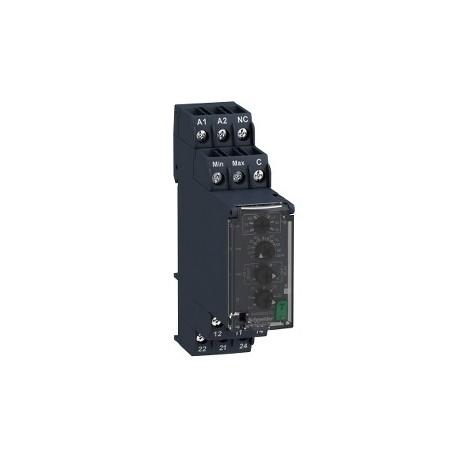 Level control relay RM22-L - 24..240 V AC/DC - 2 C/O