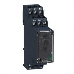 Level control relay RM22-L - 24..240 V AC/DC - 1 C/O