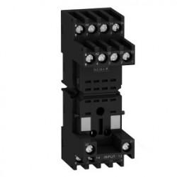 Socket RXZ - mixed contact - 10A - max 250V - connector - for relay RXM2.., RXM4..