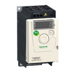 Variable speed drive ATV12 - 0.37kW - 0.55hp - 200..240V - 1ph - with heat sink. variable