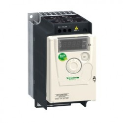 Variable speed drive ATV12 - 0.55kW - 0.75hp - 200..240V - 1ph - with heat sink