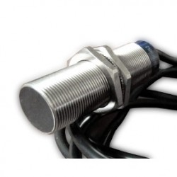 Inductive sensor XS6 M8 - L51mm - stainless, 1NO kontakt,  Sn2.5mm - 12..48VDC - cable 5m