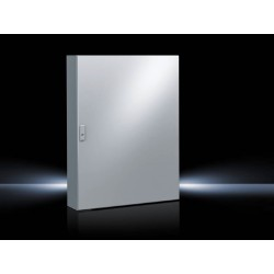 AE Compact enclosure, 800x1200x300 mm, Sheet steel, with mounting plate, single-door, 3-point lock system