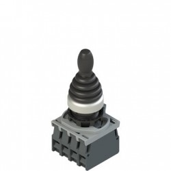 Complete unit with joystick, fixing adapter and 4NC contacts, 4 positions, diam: 22mm