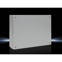 KL Terminal box, 400x300x120 mm, Sheet steel, without mounting plate, with cover, without gland plate
