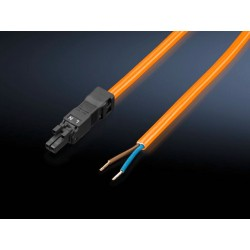 SZ Connection cable, for power supply, 2-pole, 100-240 V, L: 3000 mm