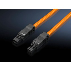 SZ Connection cable, for through-wiring, 3-pole, 100-240 V, L: 1000 mm