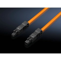 SZ Connection cable, for through-wiring, 2-pole, 100-240 V, L: 1000 mm