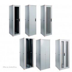 "EvoLine 19"" IT enclosures, 22U, 600x600 mm"