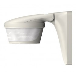 Motion detector Luxa S180 BK, 220 degrees, automatic lighting control based on presence and brightness, wall installation