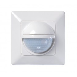 Motion detector Luxa 103-200, 200 degrees circular, Flush-mounted wall installation