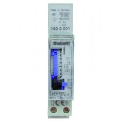 Analogue time switch MEM 190 a, weekly program