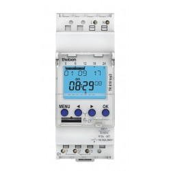 Digital time switch TR 610 top3 with weekly program, 1 channel
