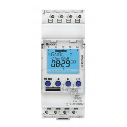 Digital time switch TR 612 top3 with weekly program, 2 channels