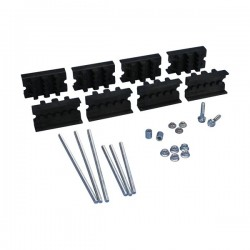 CABS Module Kit with Neutral, 1–2 Busbars per Phase, 30–120 mm Busbar Width, 10 mm Busbar Thickness
