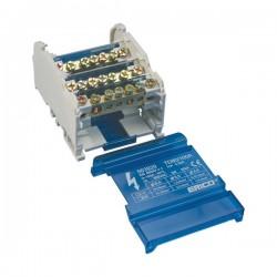 Blok distribucijski 4P, 40A, dolaz: 2 x 10mm2, odlazi: 11 x 4 mm2, tip: TD40A