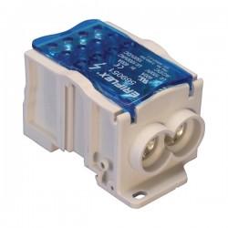 Blok distribucijski, 1P, 400A, dolaz: 2 x 35…95mm2, odlazi: 12 x 2,5…10mm2, tip UD400212CU