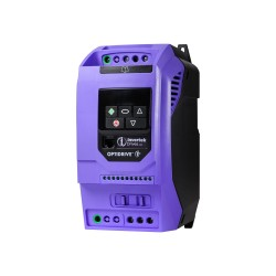 Variable speed drive Optidrive E3, 380..480 VAC, 3P..3P joint, 10,5 A, 4 kW, with EMC filter and brake transistor, IP20, book m