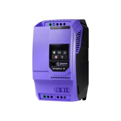Variable speed drive Optidrive E3, 380..480 VAC, 3P..3P joint, 18 A, 7,5 kW, with EMC filter and brake transistor, IP20, book m