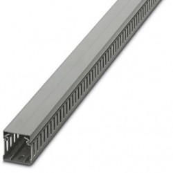 Cable duct for installation and mounting in control cabinets, gray, 40×40×2000 mm