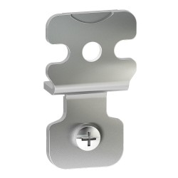 4 wall fixing brackets in stainless steel AISI 304 for Spacial S3X