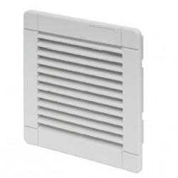 Izlazna rešetka sa filterom za ventilator, IP54, RAL 7035, š×v×d: 150×150×28 mm, š×v×d: 150×150×28 mm