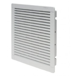 Izlazna rešetka sa filterom za ventilator, IP54, RAL 7035, š×v×d: 250×250×30 mm, š×v×d: 250×250×30 mm