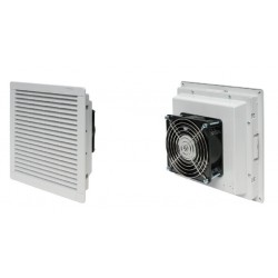 Filter fan 105 m3h, 24 W, 230V, 50Hz, RAL 7035, IP54, 250x250x111mm