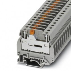 Slide-type terminal block, with slide, 500 V, 41 A, screw connection, No. of connections: 2, cross section: 0.5 mm2 - 10 mm2,