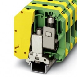 Ground modular terminal block, screw connection, No. of connections: 2, No. of positions: 1, cross section: 25 mm2 - 95 mm2,