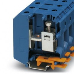 High-current terminal block, 1000 V, 150 A, screw connection, No. of connections: 2, No. of positions: 1, cross section: 16 mm2