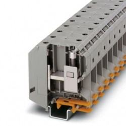 High-current terminal block, screws with hexagonal socket, 1000 V, 232 A, screw connection, No. of connections: 2, cross sectio