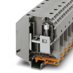 High-current terminal block, 1000 V, 309 A, screw connection, No. of connections: 2, cross section: 35 mm2-150 mm2, gray