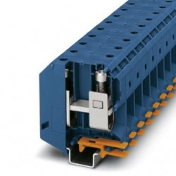 High-current terminal block, screws with hexagonal socket, 1000 V, 232 A, screw connection, No. of connections: 2, No. of posit