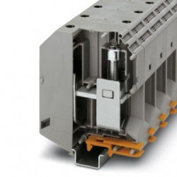 High-current terminal block, 1000 V, 415 A, screw connection, No. of connections: 2, cross section: 70 mm2-240 mm2, gray