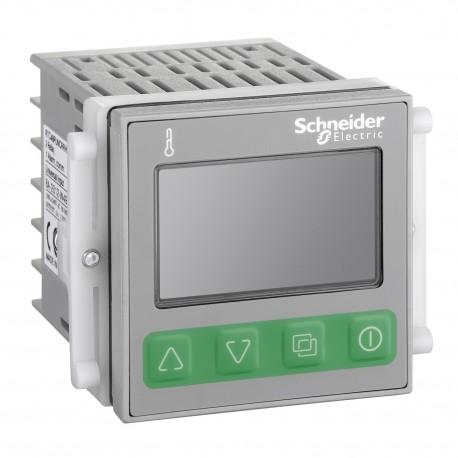 Temperature control relay RTC - 48x48 mm - 100..240 V AC - 1 relay, alarms