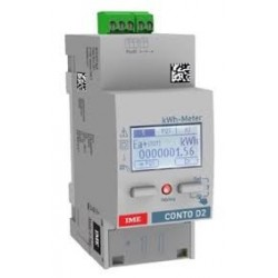 Active energy meter, multifunction, 1 phase, direct, 63A