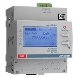 Active energy meter, multifunction, 3 phase, direct, 63A, RS 485 Modbus RTU