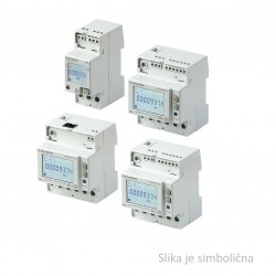 Electrical energy meter COUNTIS E24 with MID certificate, direct, 3 phase, 80A, RS 485 MODBUS RTU