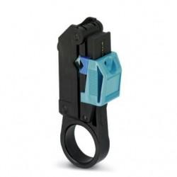 Alat za skidanje izolacije koaksijalnog kabela dvije duljine u jednom potezu, L1 6 mm, tip WIREFOX-D CX-1