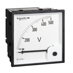 Voltmeter VLT PowerLogic, 96x96, ferromagnetic, 0..500 V