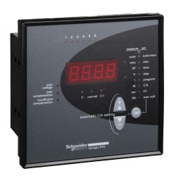 Power factor correction regulator, 8 degrees, Varlogic