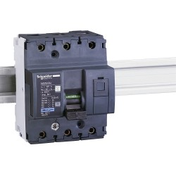 Miniature Circuit Breaker NG125 25kA,3P, 50A, C curve code