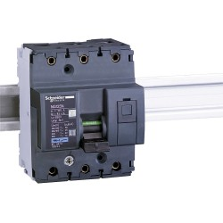 Miniature Circuit Breaker NG125 25kA,3P, 125A, C curve code