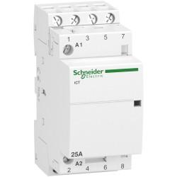 Contactor iCT25A, 4P, 25A, 4NO, 220...240V AC