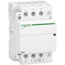 Contactor iCT63A, 3P, 63A, 3NO, 220...240V AC