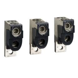 Set of 3 connectors, 2 cables, 50..120 mm2