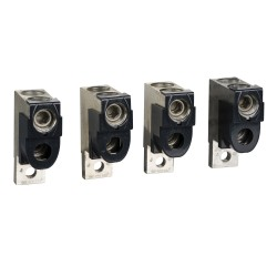 Set of 4 connectors, 2 cables, 50..120 mm2