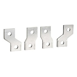 Connection accessories, spreaders, 45 mm pitch, flat connection, 4 poles