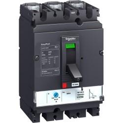 Circuit breaker Compact CVS100B, 3p, 25kA, 80A, TMD trip unit